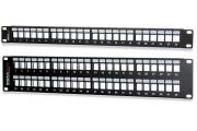 High-Density Field-Configurable Unloaded Multimedia Patch Panels