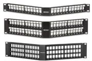 High-Density Field-Configurable Angled Patch Panels