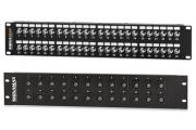 BNC Connector Feed-Thru Patch Panels